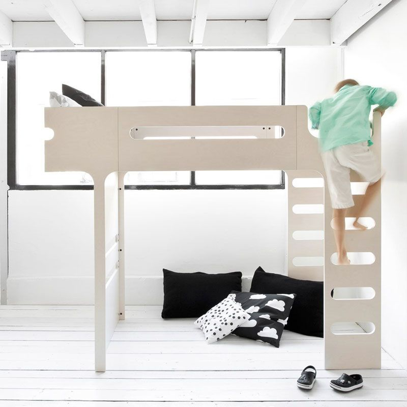 lit mezzanine design blanc c rus rafa kids bunk bed. Black Bedroom Furniture Sets. Home Design Ideas