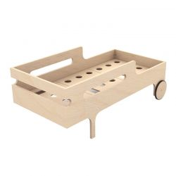 Lit junior Toddler Bed Bois naturel