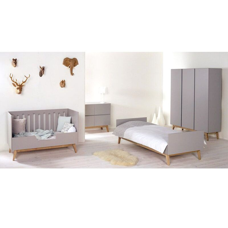 lit enfant design blanc quax trendy range ta. Black Bedroom Furniture Sets. Home Design Ideas