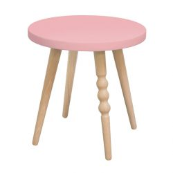 Tabouret My Lovely ballerine rose