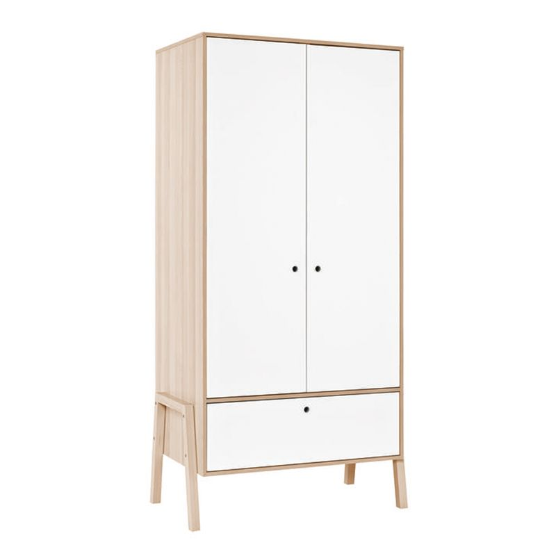 armoire design blanc vox spot range ta. Black Bedroom Furniture Sets. Home Design Ideas