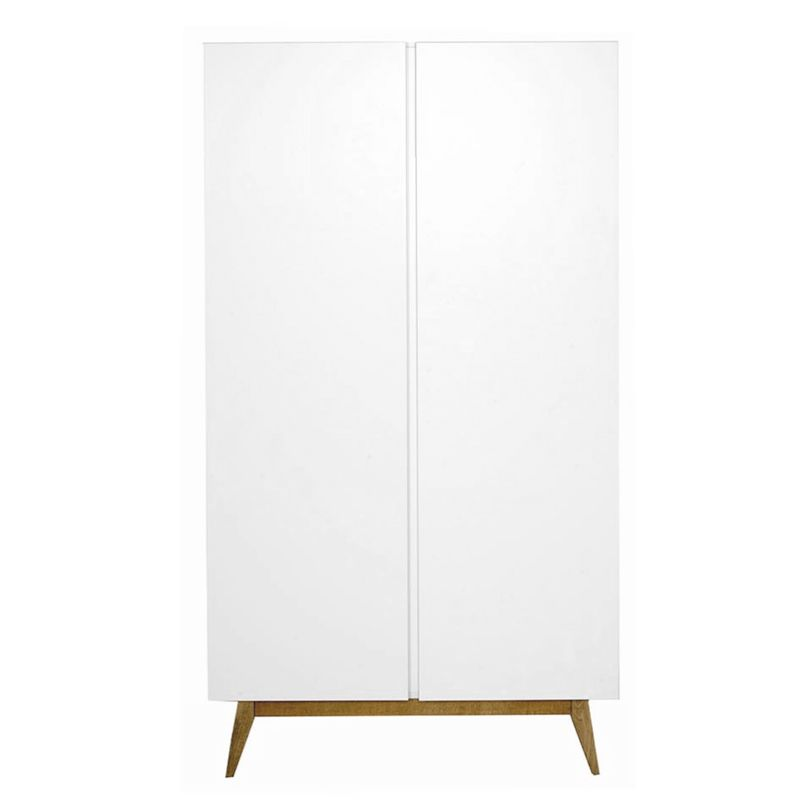 armoire enfant design blanc quax trendy 2 portes. Black Bedroom Furniture Sets. Home Design Ideas