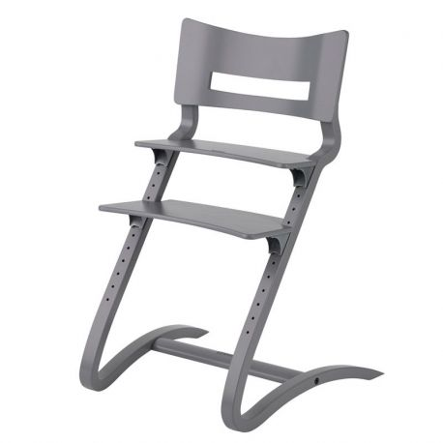 chaise haute b b design gris leander volutif range ta. Black Bedroom Furniture Sets. Home Design Ideas
