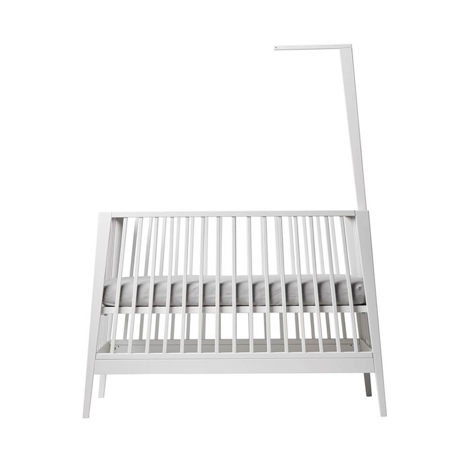 flche de lit bb blanc linea table langer linea naturel - Fleche De Lit