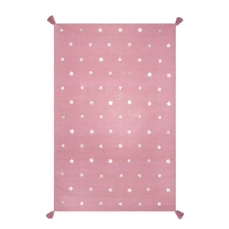 tapis etoile rose enfant art for kids i range ta chambre. Black Bedroom Furniture Sets. Home Design Ideas