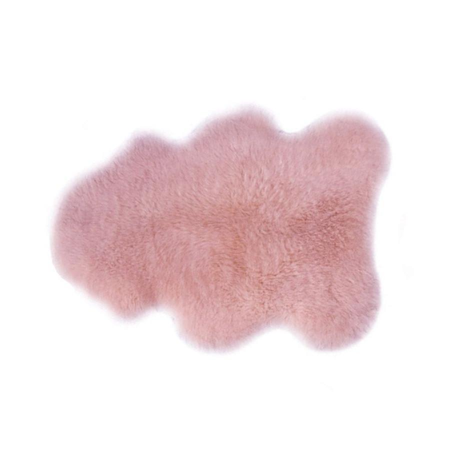 tapis enfant design rose leander peau d 39 agneau range ta. Black Bedroom Furniture Sets. Home Design Ideas