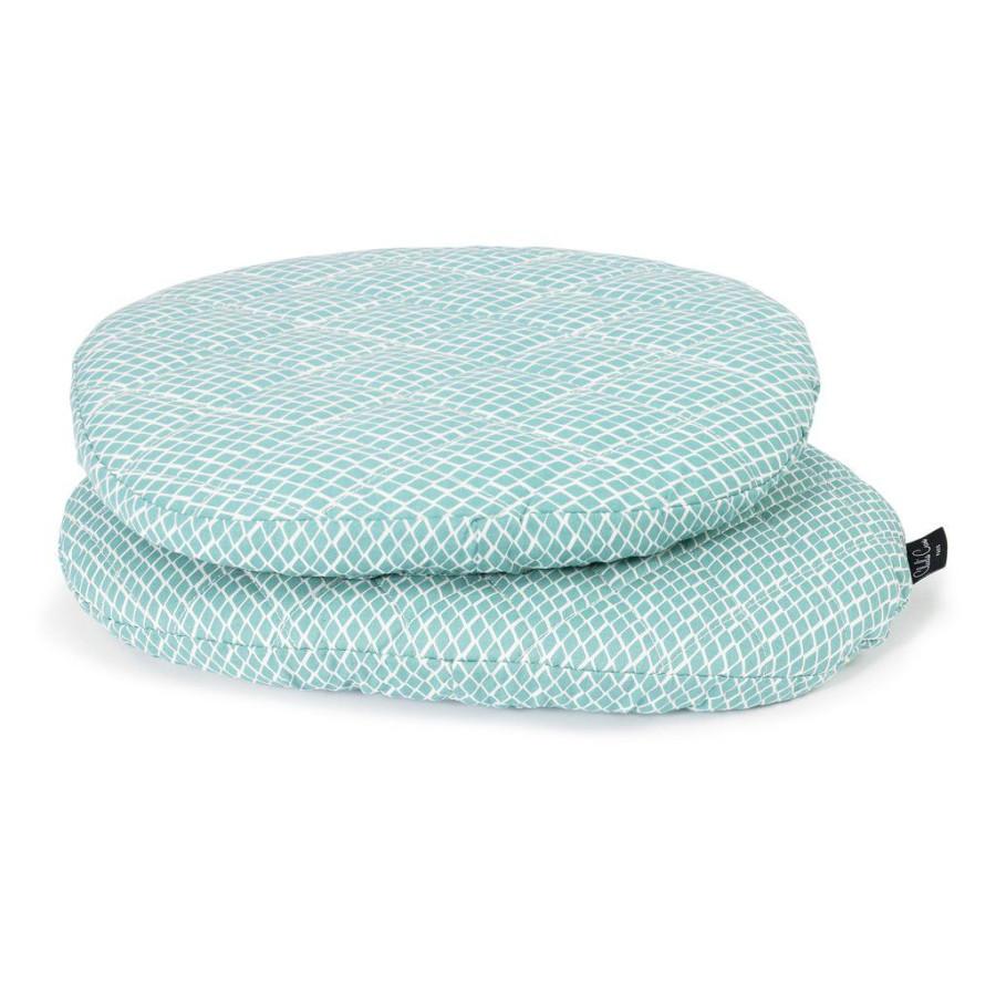 Assise coton pour chaise Tibu Diamond blue