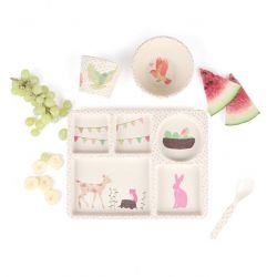 Coffret Tea Party rose
