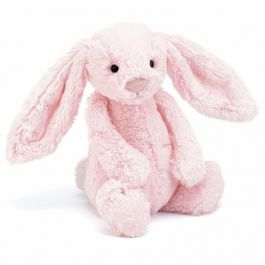 Grand lapin peluche rose, Couleur: Rose