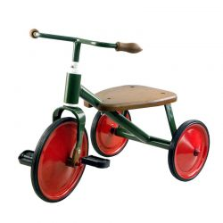 Tricycle M rétro rouge