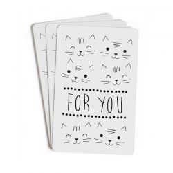 Mini cartes For you