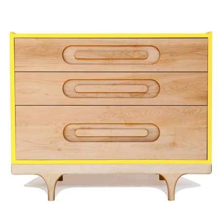 Commode Caravan jaune