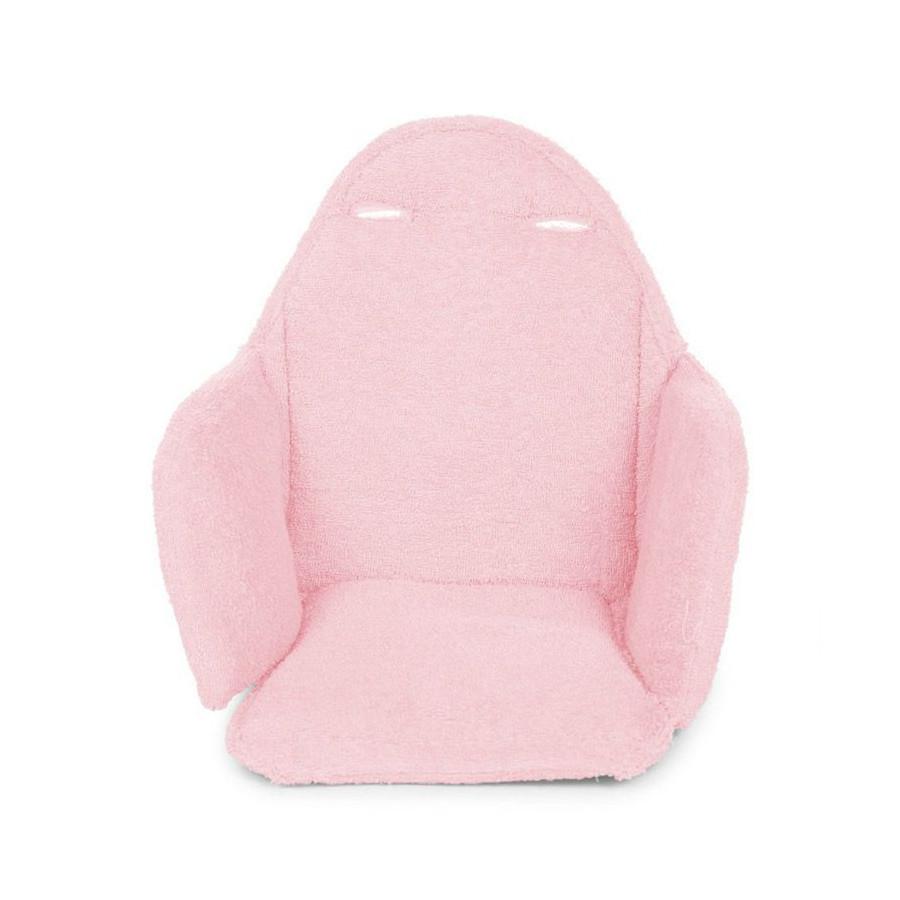 Coussin d'assise chaise évolutive rose