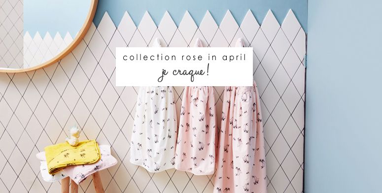 New ! Collection poétique Rose in april.