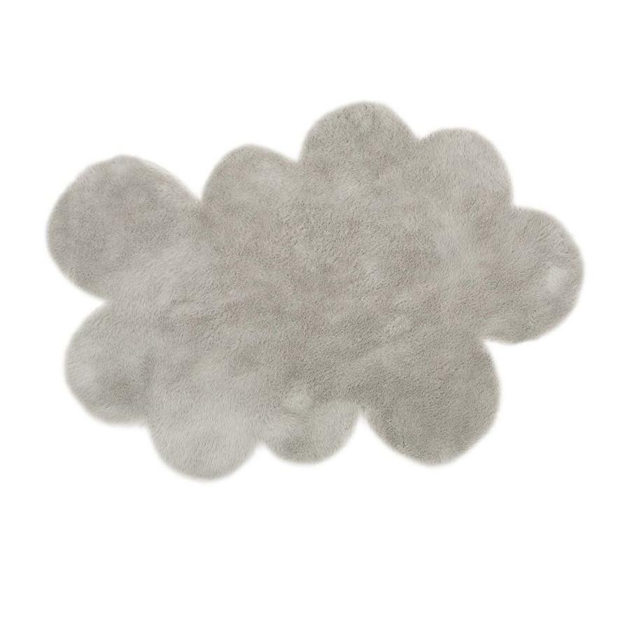 Grand tapis Nuage gris