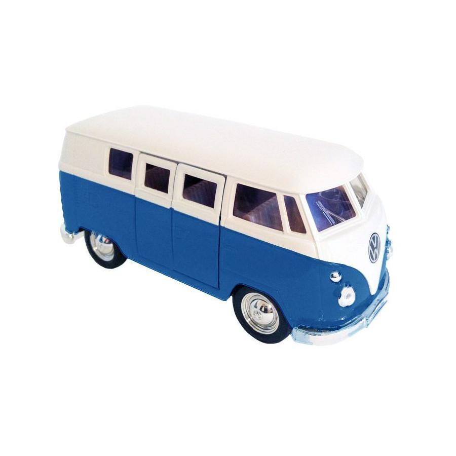 Camion Combi bleu