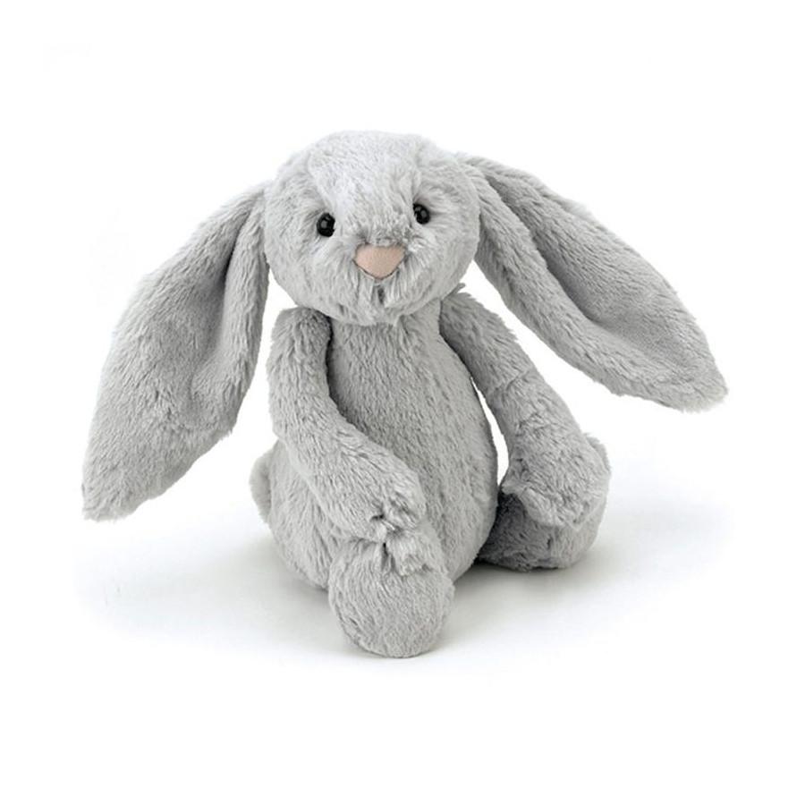 Petit lapin Velours gris