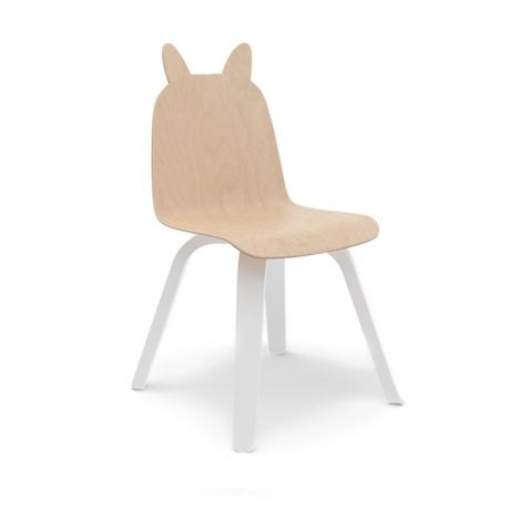 Chaise Lapin Play Bouleau