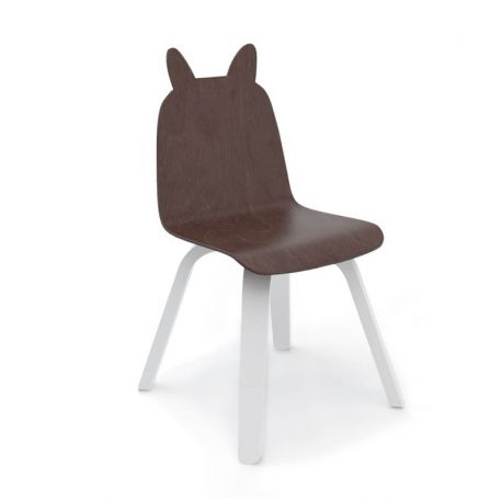 Chaise Lapin Play Noyer