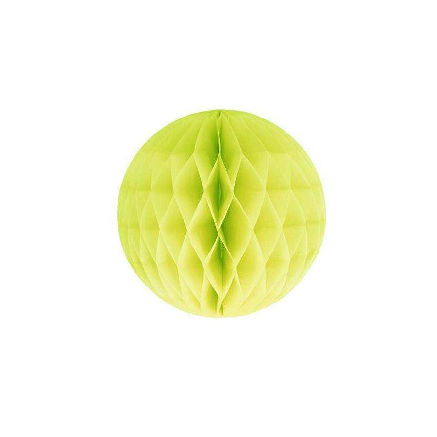 Boule Alvéolée vert anis