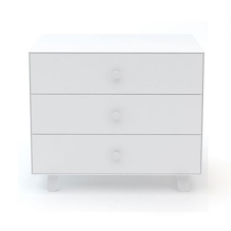 Commode Merlin Sparrow - 3 tiroirs Blanc