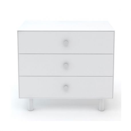 Commode Merlin Classic - 3 tiroirs Blanc