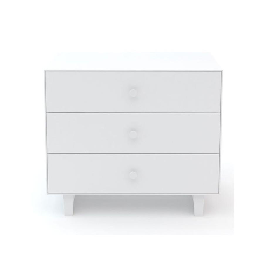 Commode Merlin Rhea - 3 tiroirs Blanc