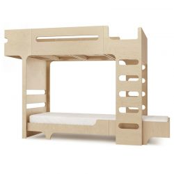 Lit superposé Bunk Bed Teen Naturel