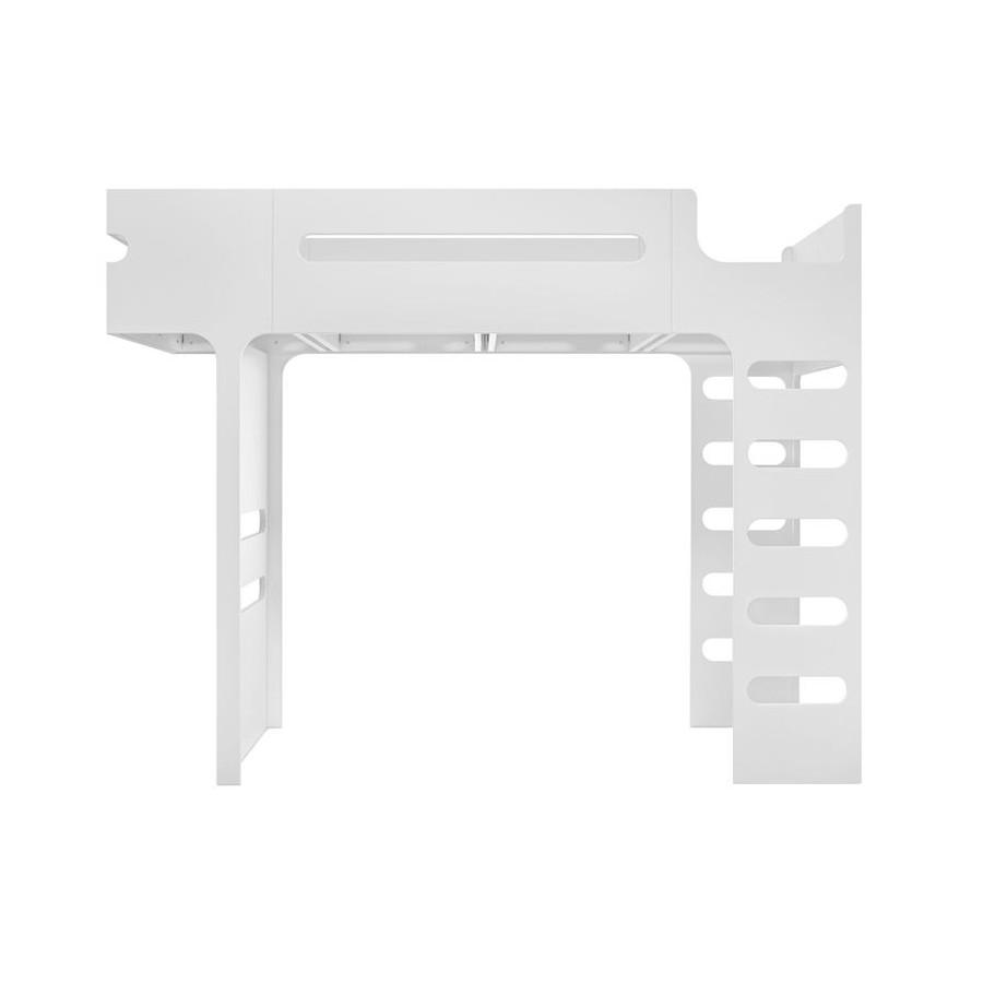 Lit mezzanine Bunk Bed Blanc