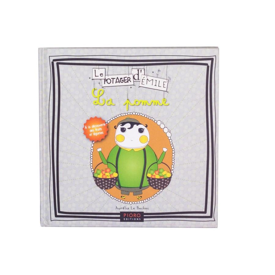 Livre Le potager d'Émile, La pomme