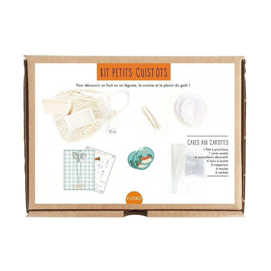 Kit petits cuissots, Le cake aux carottes