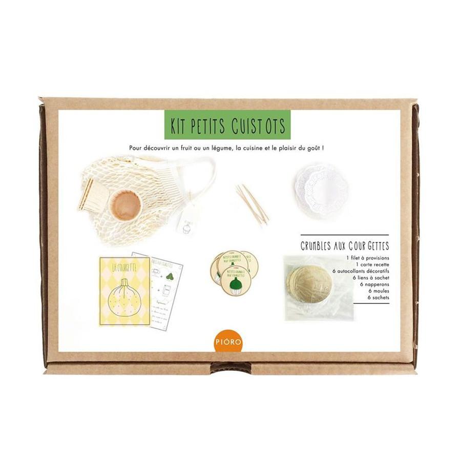 Kit petits cuissots, Le crumble aux courgettes