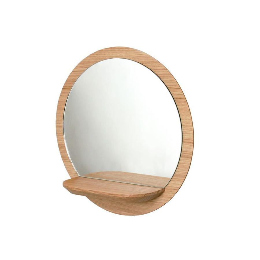 Petit miroir rond Sunrise