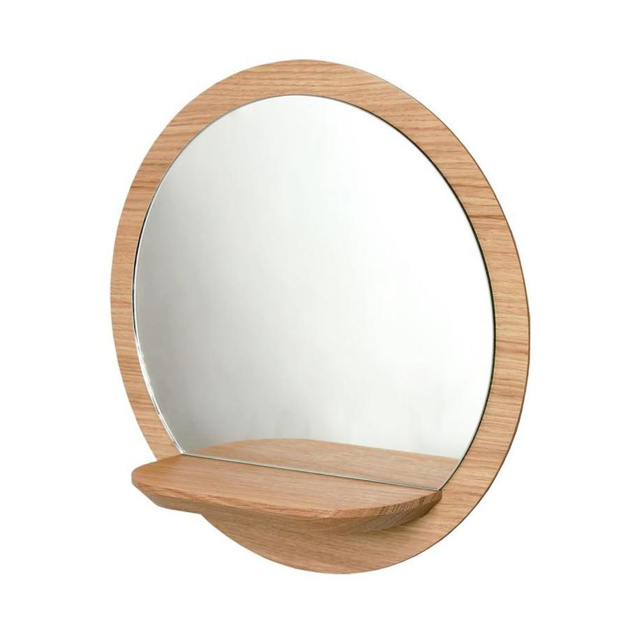grand miroir rond sunrise reine m re. Black Bedroom Furniture Sets. Home Design Ideas