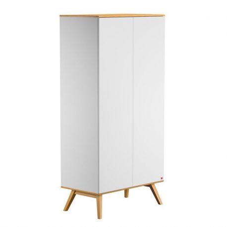 Armoire 2 P Nature blanc