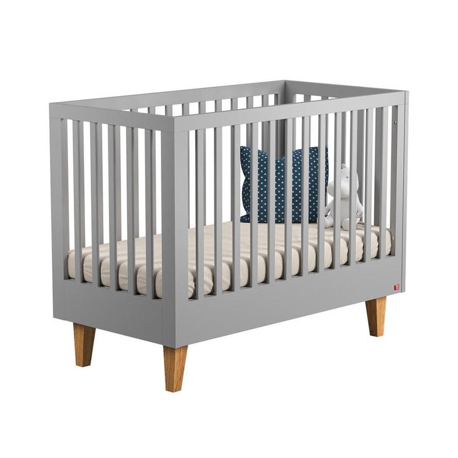 Lit bébé 120 Lounge gris