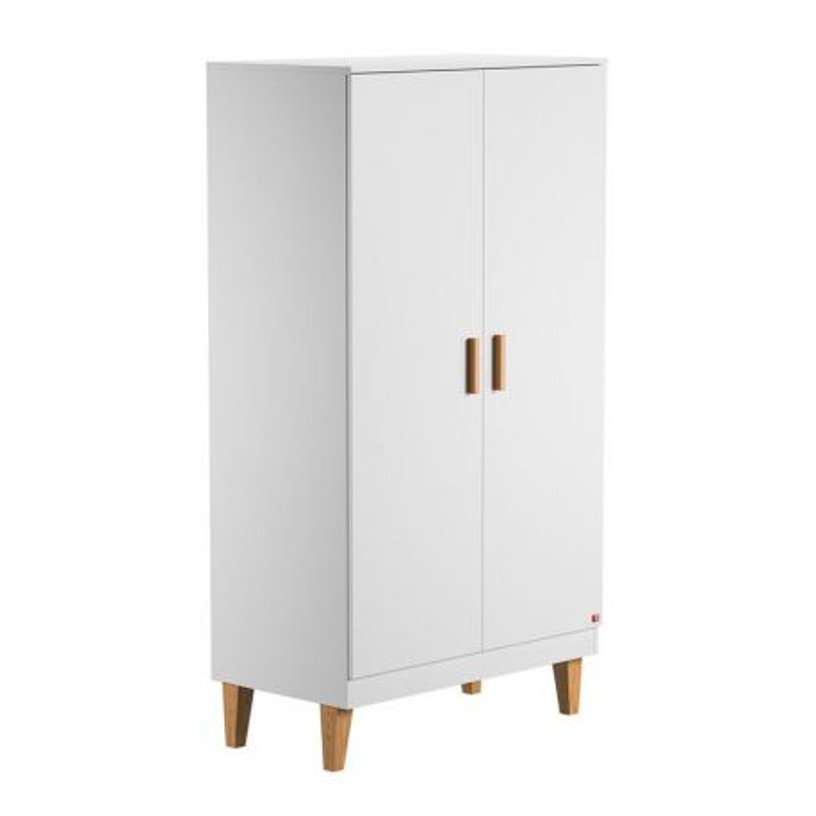 Armoire 2 P Lounge blanc