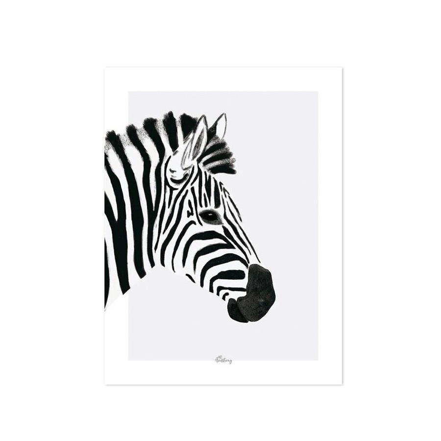 Affiche Enfant Design Zebre Lilipinso Design Enfant
