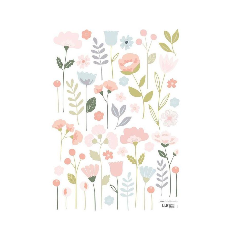 Stickers Bloom pastel
