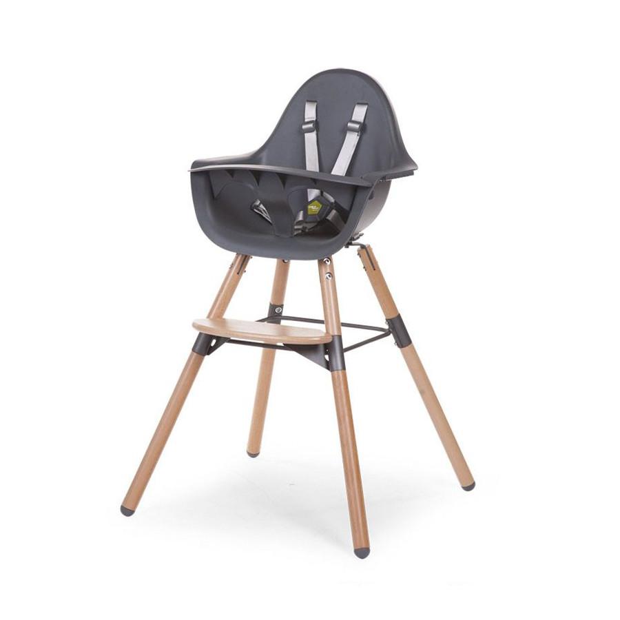 Chaise bébé Evolu Tablette grise