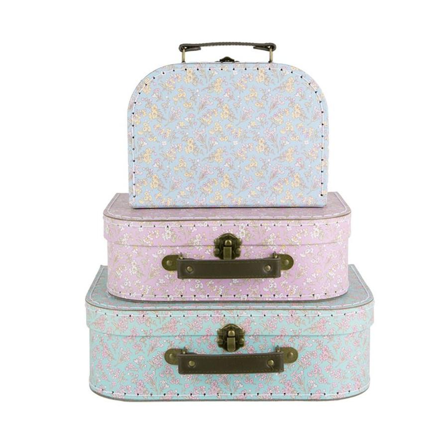 Set de valise floral