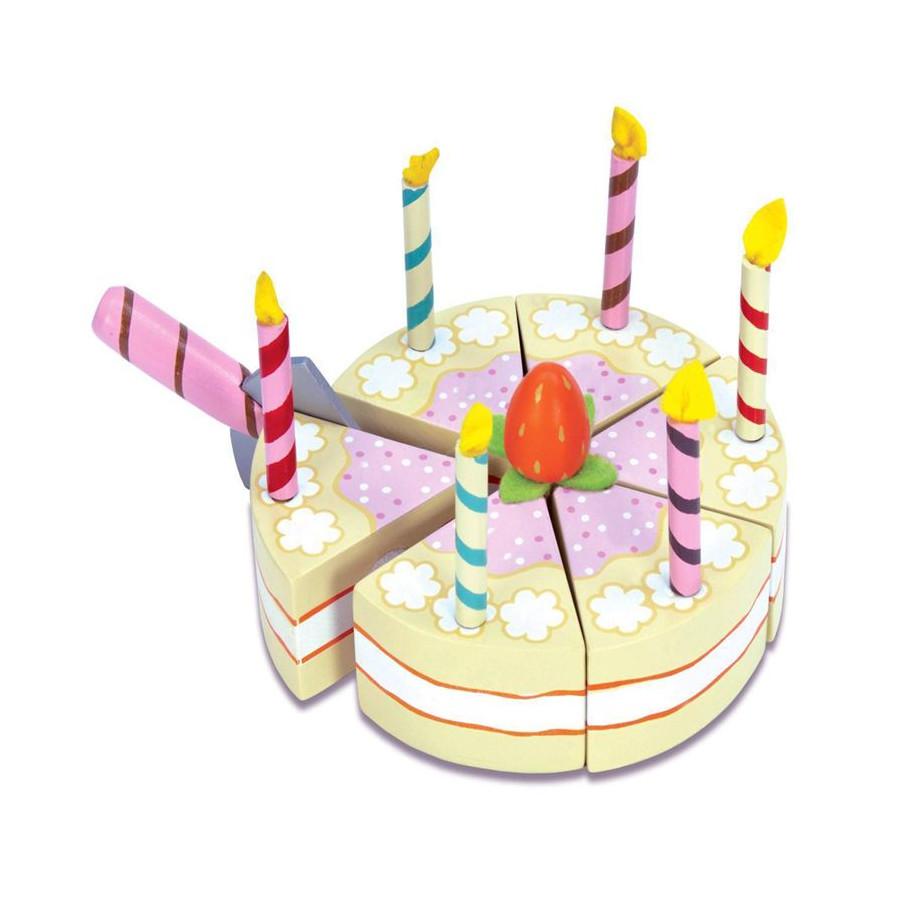 Gateau d'anniversaire à la vanille