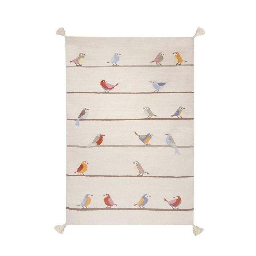 Tapis Kilim oiseaux