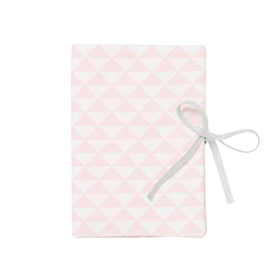 Protège carnet de santé Triangle rose