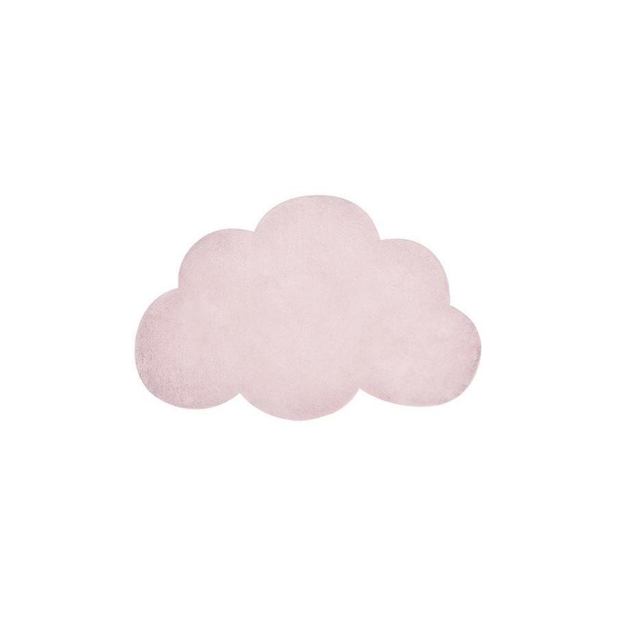 Tapis Nuage rose pâle