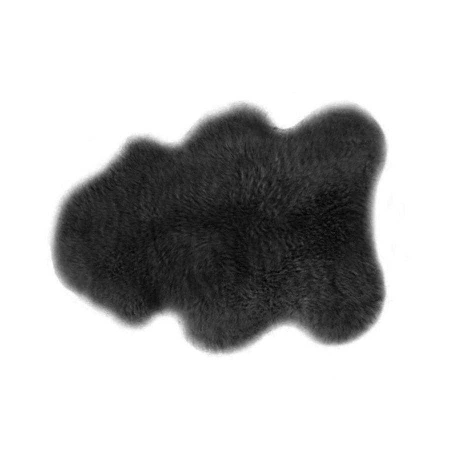 Peau d'agneau gris