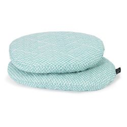Assise coton pour chaise Tibu Diamond blue