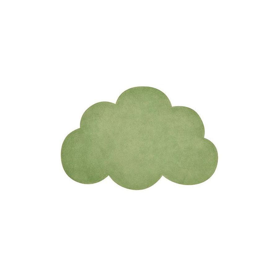 Tapis Nuage kale green