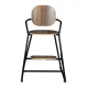 Chaise haute évolutive Tibu noir