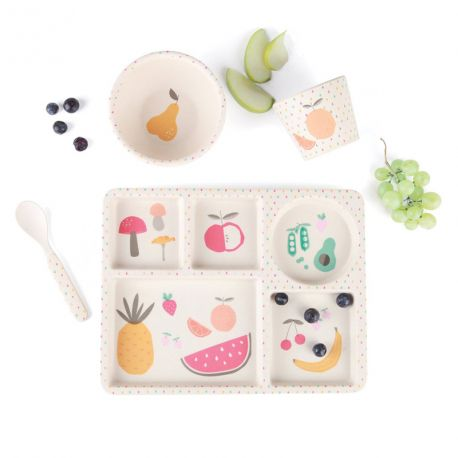 Coffret Bamboo Fruits et Legumes